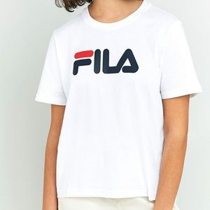 White FILA Tshirt from Urban Outfitters
